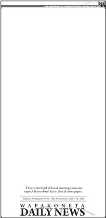 Blank Page Ad