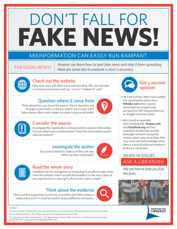 Fake News Infographic