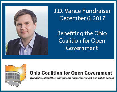 OCOG's 25th anniversary fundraiser featuring bestselling author J.D. Vance